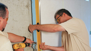 installing a basement wall finishing system in Bend