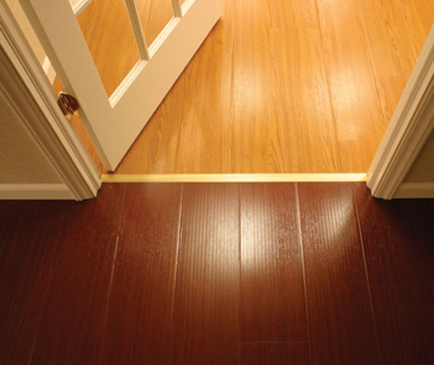MillCreek Flooring™ comes in multiple options, pictured here are our Light  Oak and Mahogany ... - Finished Basement Wood Flooring In OR Best Flooring For A