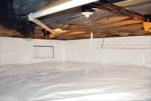 Crawl Space Repair After in Vancouver