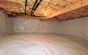 CleanSpace® vapor barrier after in Vancouver