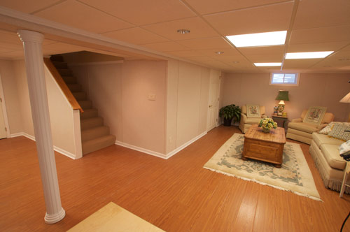 Basement finishing pictures in vancouver wa eugene for Finished basement cost estimator