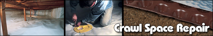 Crawl Space Repair in OR, including Eugene, Salem & Portland.