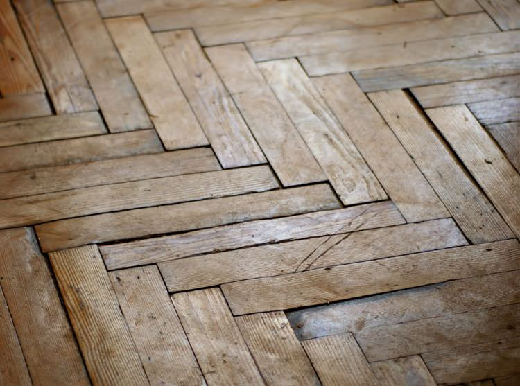 A Battle Ground buckling wood floor. - Warped Wood Floor Problems In OregonMoisture Control For Wood
