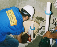 installing a sump pump and backup sump pump system in Prineville, OR