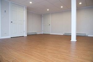 Thermaldry plank flooring