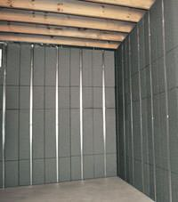Thermal insulation panels for basement finishing in Salem, Oregon