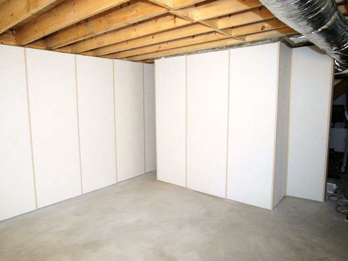 ZenWall Insulated Basement Wall Panels Installed in Salem